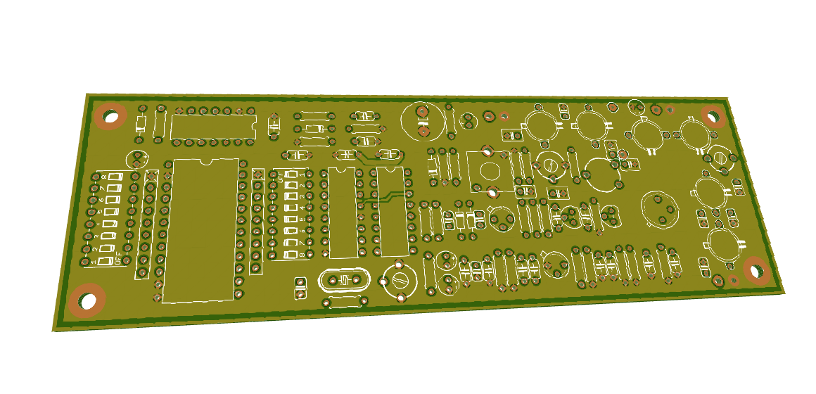 FM transmitter PCB layout
