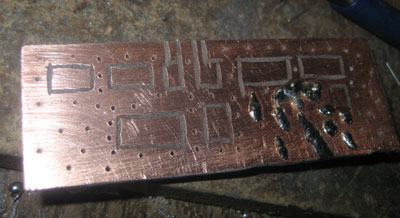rf amplifier copper clad construction
